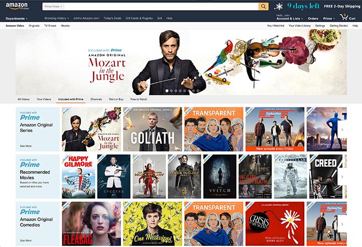 Gifts 2016 - Amazon Prime