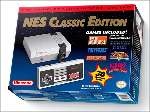 Gifts 2016 - NES Classic Edition