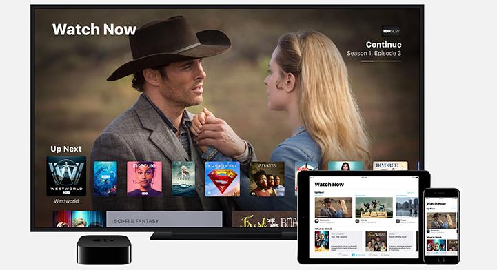 Apple TV with Amazon Prime