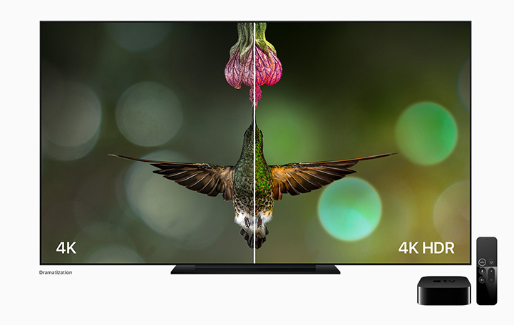 4K Apple TV - HDR Example