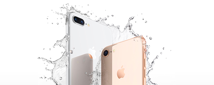 iPhone 8 and 8 Plus Water Resistant