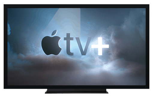 Apple TV 4K set up with Apple TV+