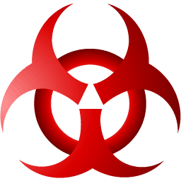 Computer Virus Biohazard Mask