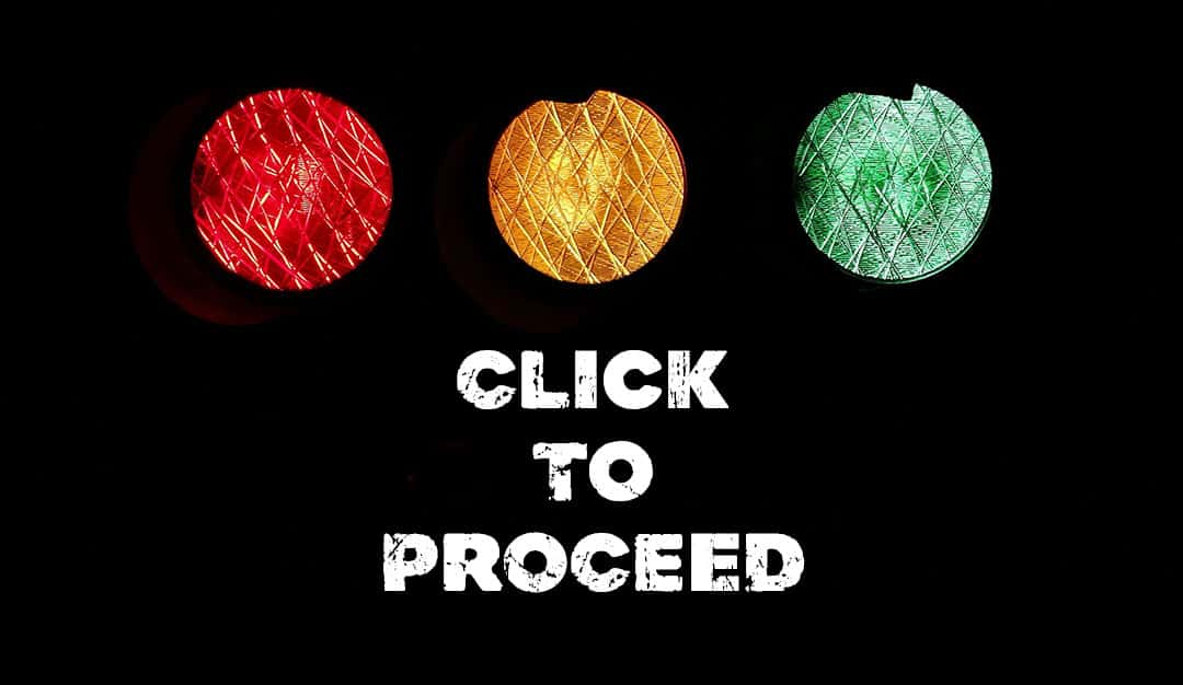 Traffic Lights - Click-To-Proceed