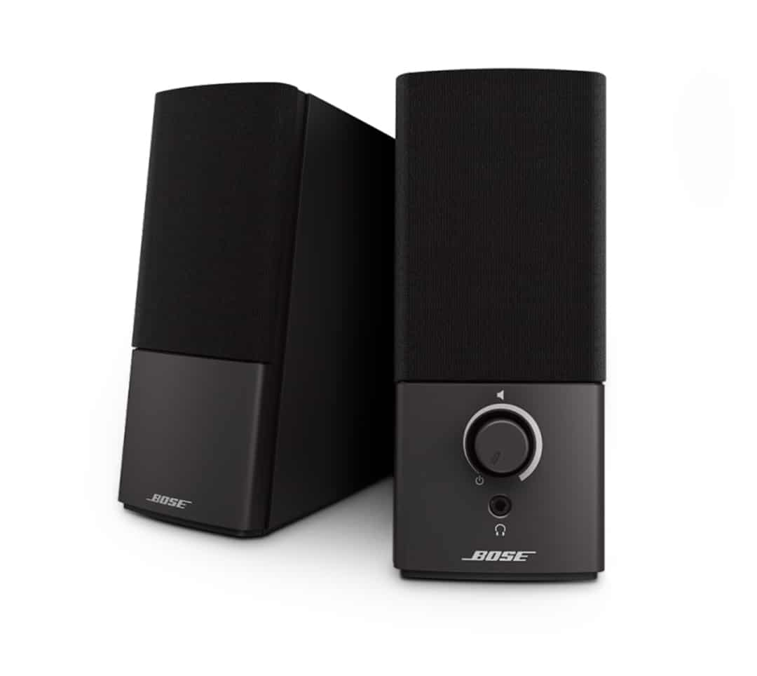Bose-Comapnion-2-speakers-for-Apple-Mac-Front-View