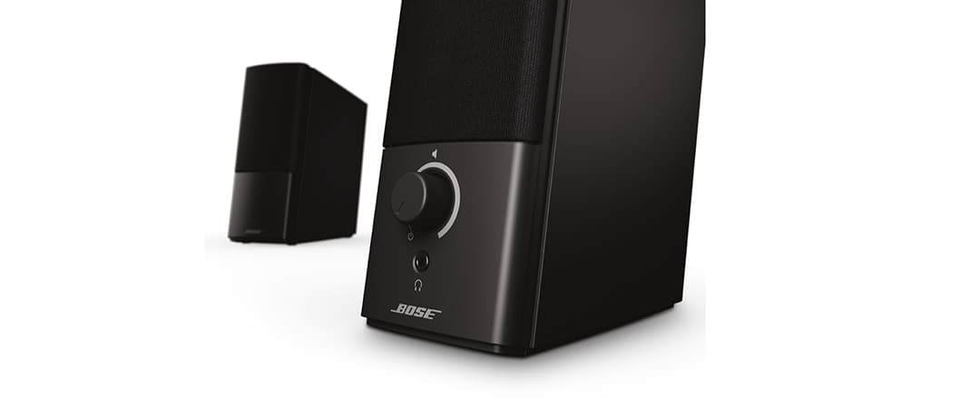 Close Up - Bose Companion 2 Series III multimedia speaker system