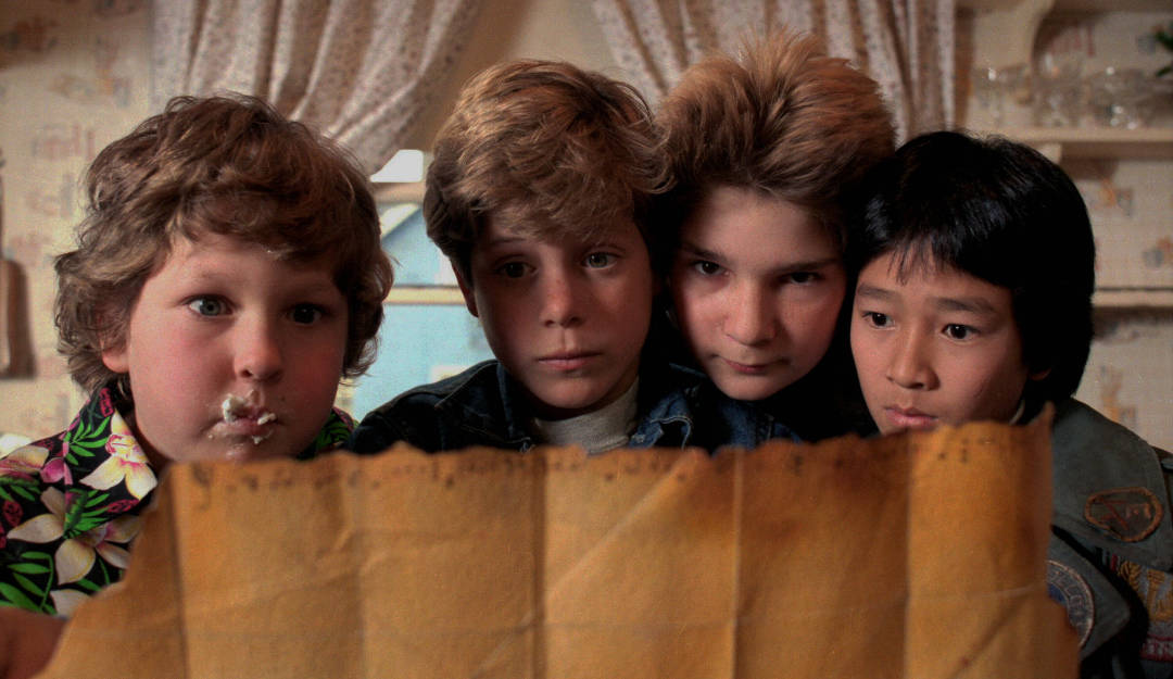 Goonies With Map