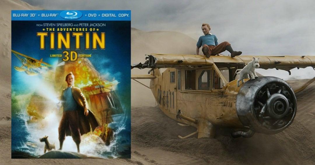 Adventures of Tintin - 3D Blu Ray