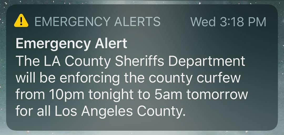 WEA Emergency Alert