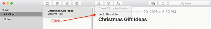 Lock This Note