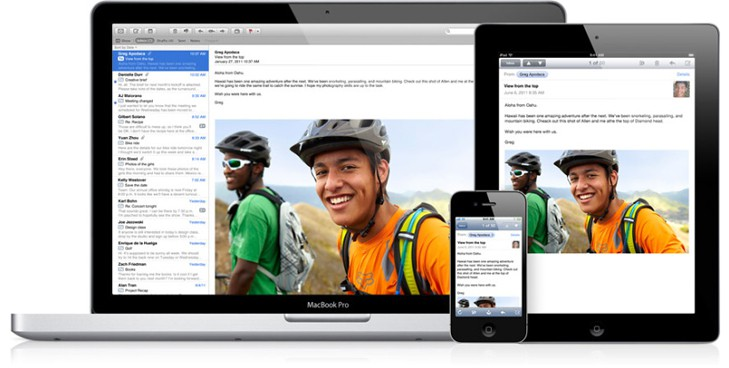 Macs Showing iCloud Email