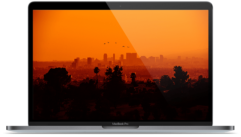 Apple Mac Showing West Los Angles