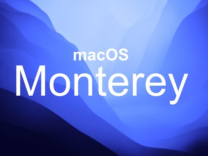 mac operating system Monterey